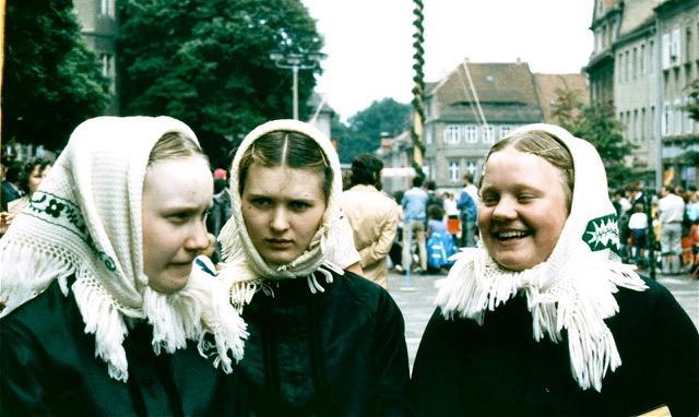 Photo prise par Jean Kudela à Budyšin / Bautzen en 1985