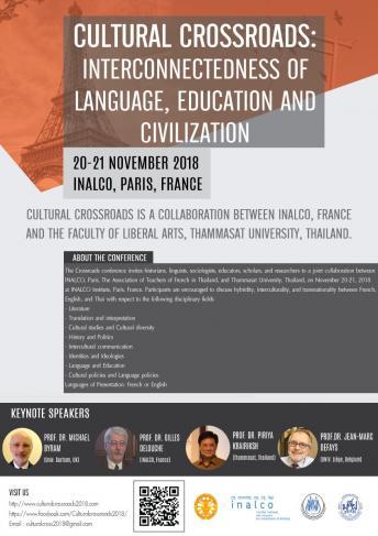 Carrefours interculturels : connexions entre langue, culture et éducation