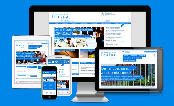 responsive design web : format du site sur plusieurs supports