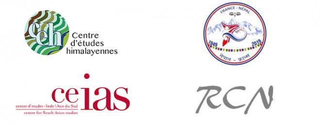 Montage de logos pour Journée Réseau Chercheurs Népal