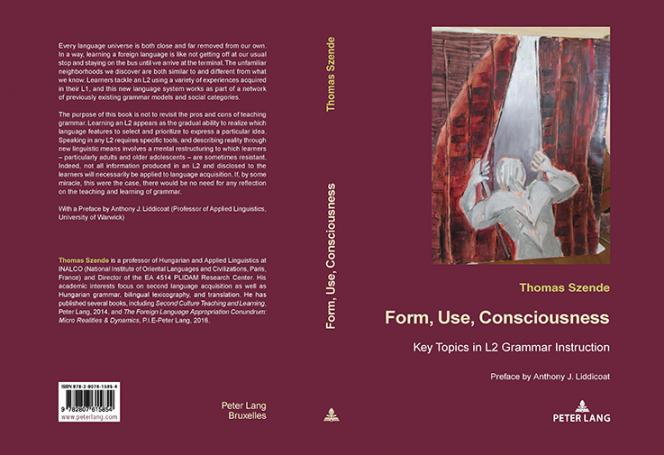 Couverture de Form, Use, Consciousness de Thomas Szende