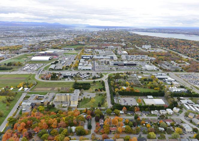 Une ville dans la ville : l'université Laval. (DR)