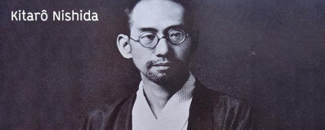 Portrait en noir et blanc de Kitarô Nishida