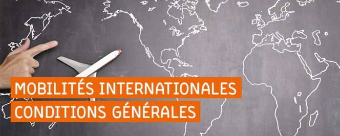 Mobilités internationales : consignes générales