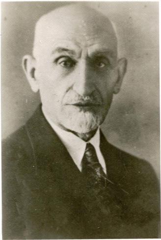 Portrait du poète Yaḥyā Dowlatābādī