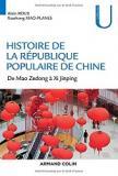 Couverture de Histoire de la République Populaire de Chine de Mao Zedong à Xi Jinping