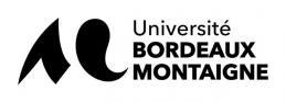 logo noir et blanc université bordeaux montaigne