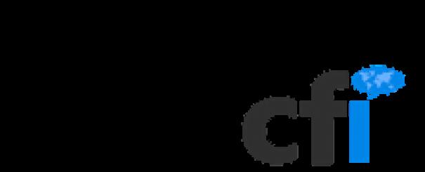 logo cfi acronyme bleu gris