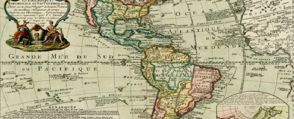 Carte Amériques 1766 Danet