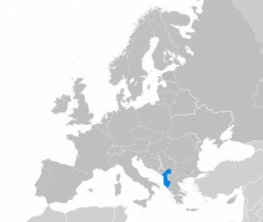 L'albanais en Europe