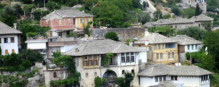 Maisons typiques d'Albanie