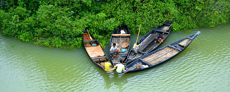 Pirogues, Chittagong (Bangladesh)