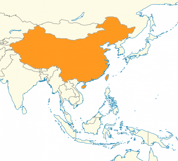 carte locuteurs chinois