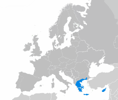 Carte grec moderne