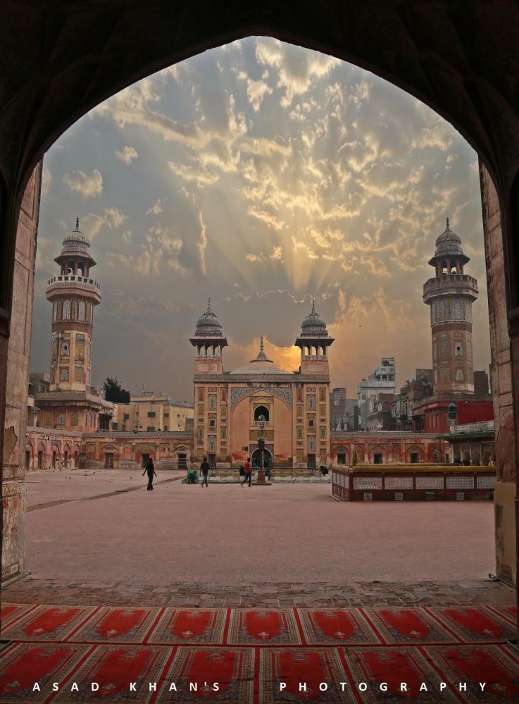 Mosquée à Lahore