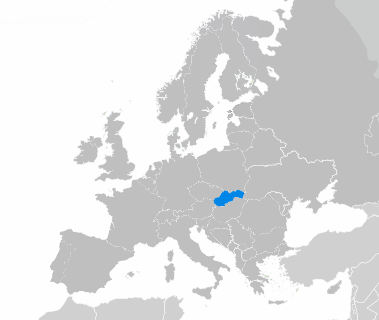 La Slovaquie en Europe
