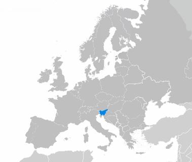La Slovénie en Europe