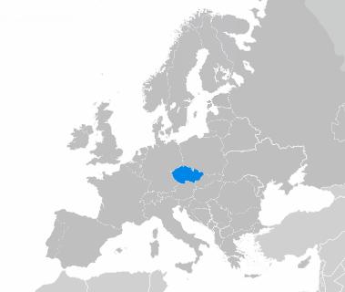 La République tchèque en Europe