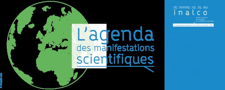 Agenda des manifestations scientifiques - septembre 2021