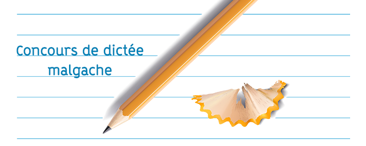 Crayon à papier et son copeau posés sur une feuille de cahier à ligne