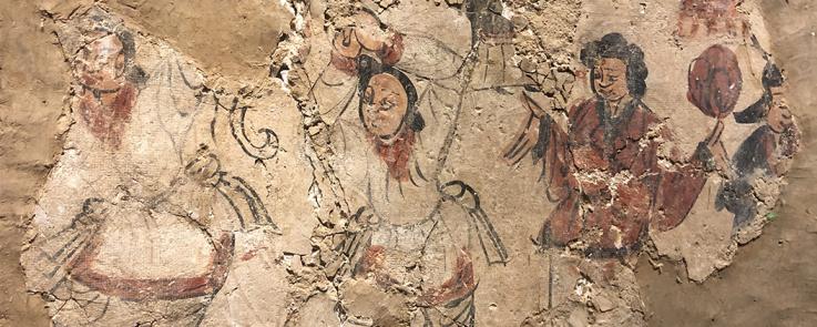 Peinture murale des Wei du Nord (386-534), Pingcheng