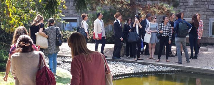 Les EMICC en visite à Paris