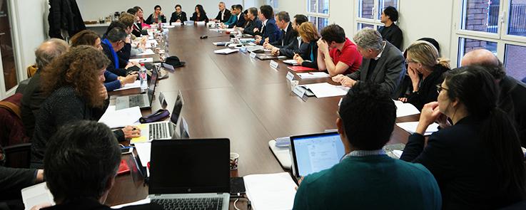 Membres du conseil d'administration de l'Inalco 2019