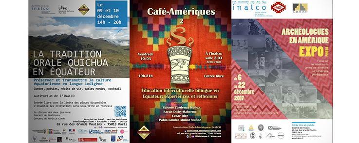 Lettre itinéraire Affiches quechua