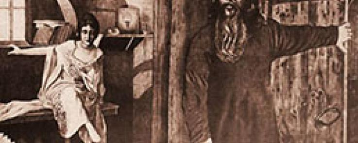 Affiche originale du Père Serge de Iakov Protazanov (1917)