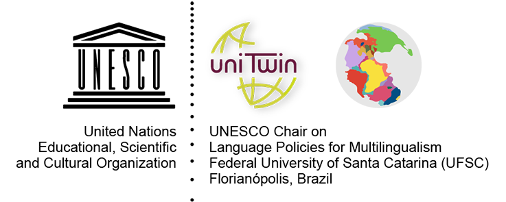 Logo Unesco Unitwin Chaire Language Policies for Multilingualism