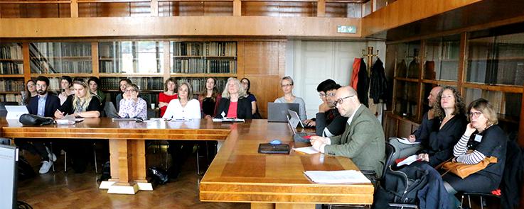 Photo des enseignants de 13 universités européennes au forum international Nachmanides 2019