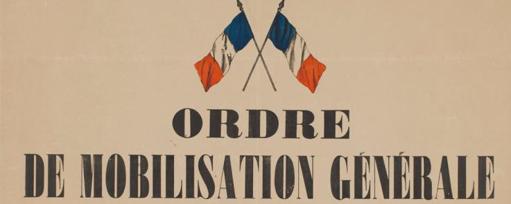 Ordre de mobilisation générale en France, août 1914