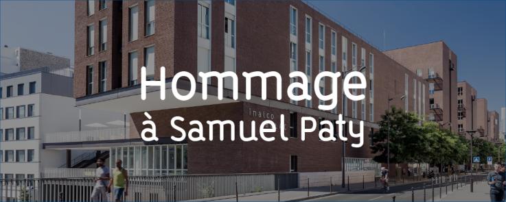 Hommage Samuel Paty