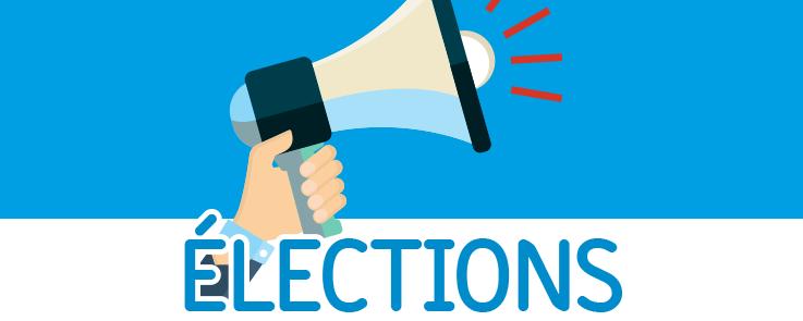 Haut-parleur et mot élections