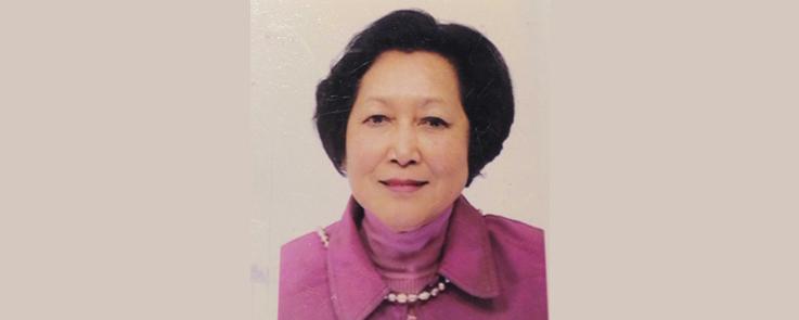 Portrait de Wanee Pooput, enseignante de thaï de 1961 à 2004