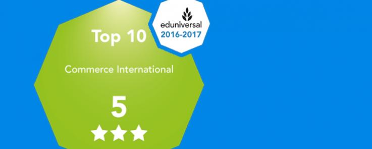 CILO : le diplôme classé 5ème meilleure formation bac + 3 en commerce international