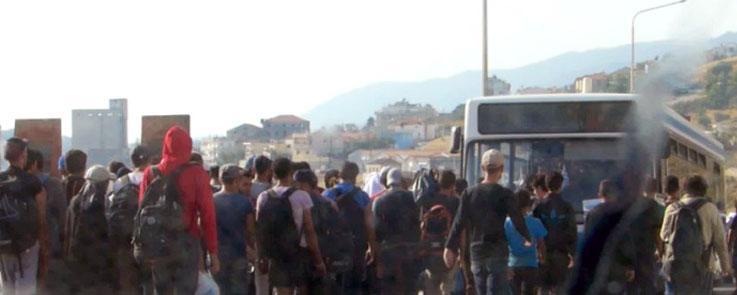 Lesbos, l'île refuge
