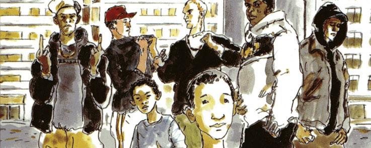 Du visible à l'invisible : les jeunes de cité entre espace public et privé
