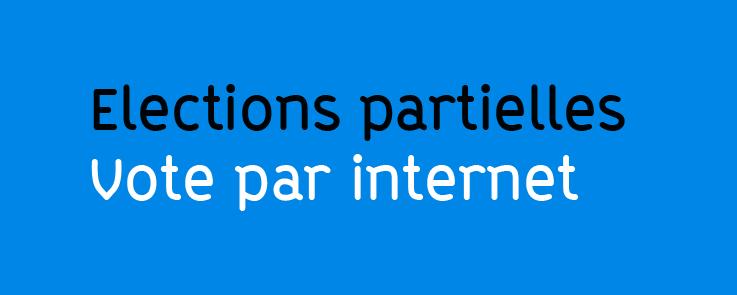 élections partielles vote électronique
