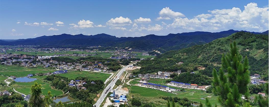 Bourg de Cenchuan (Chine), photo de terrain 2020