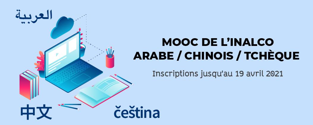 MOOC de l'Inalco - arabe, chinois et tchèque