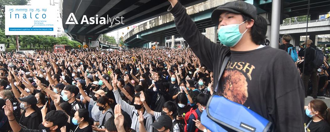 """Où va """"l'Alliance du thé au lait"""" entre les jeunes pro-démocratie de Thaïlande, Hong Kong et Taïwan"""