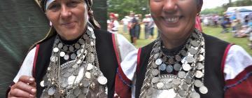 Journées seto - Costumes féminins de type récent - broches et colliers