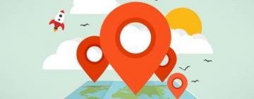 Image montrant des points sur une carte