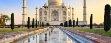 Taj Mahal ensoleillé