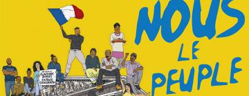 """Extrait de l'affiche du film """"Nous le peuple"""" de Claudine Bories et Patrice Chagnard"""
