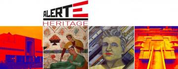 Série de quatre œuvres de l'avant-garde russe et turkestanaise de l'époque soviétique