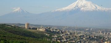 Vue panoramique d'Ararat (Arménie)