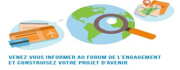 Bandeau Forum de l'engagement : Projet d'avenir 2019