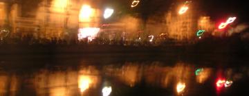 Photo de nuit avec lumières